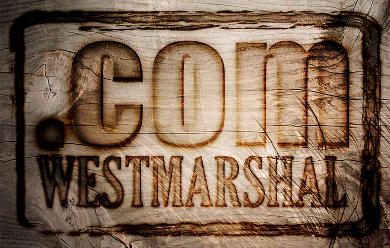 Conception d'un logotype pour westmarshal
