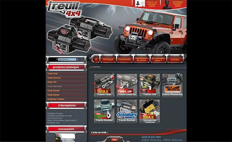 Treuil 4X4